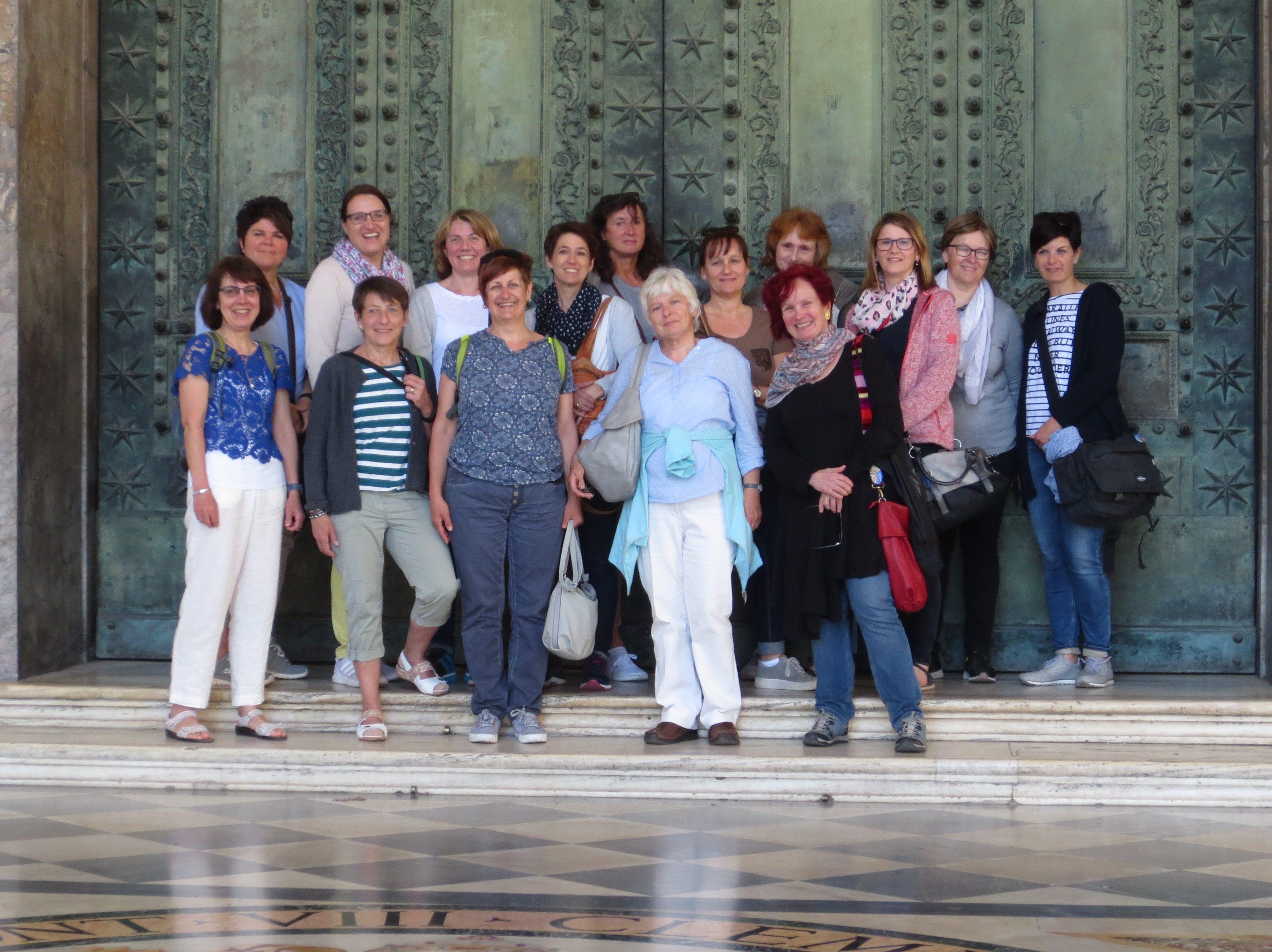 Romfahrt 2019 Frauengemeinschaft Balzhofen