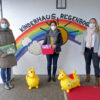 Spende der Frauengemeinschaft an das Kinderhaus Regenbogen